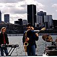 Luc - Sylvain Gagnon - Yves - Yvon, Tournage du vidéo-clip Bélugas, Montréal 93
