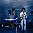 Concert dans la cale d`un navire - Festival de Tadoussac 90