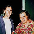 Luc en compagnie de Chick Corea - Festival de Jazz de Montréal 2000