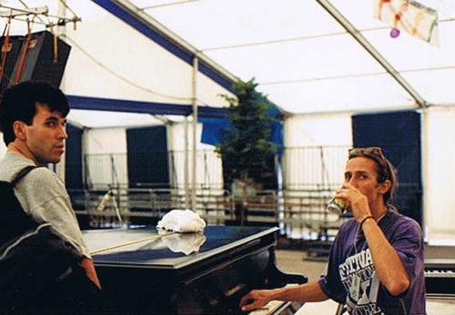 1 heure avant le concert - Festival  International de Jazz de Montréal 92