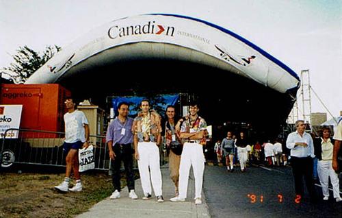 Alain Picote - Luc - Yvon - Yves - Festival International de Jazz de Montréal 93