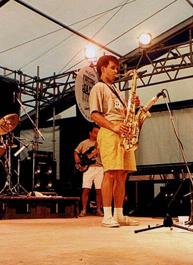 Alain - Yves - Festival de Jazz de Montréal 92